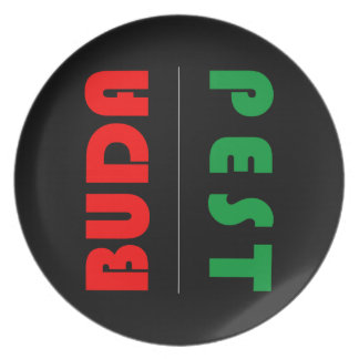 Budapest minimalist - circle - 01 plate