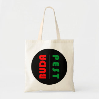 Budapest minimalist - circle - 01 tote bag