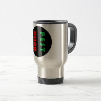 Budapest minimalist travel mug