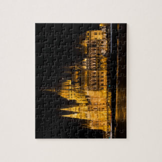 Budapest Parliament At Night Jigsaw Puzzle