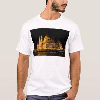 Budapest Parliament At Night T-Shirt