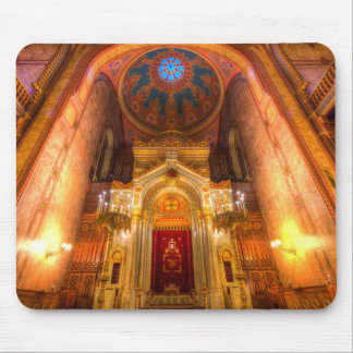 Budapest Synagogue Mouse Pad