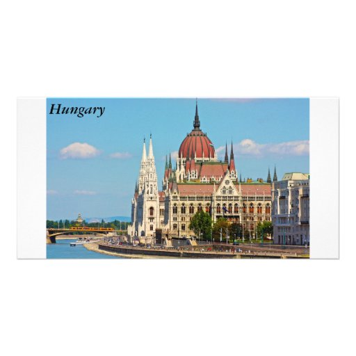Budapest, the building of the Parliament, Hungary Photo Greeting Card