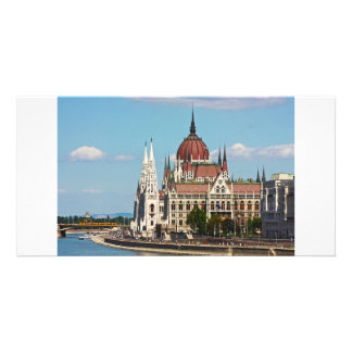 Budapest the building of the Parliament Photo Card