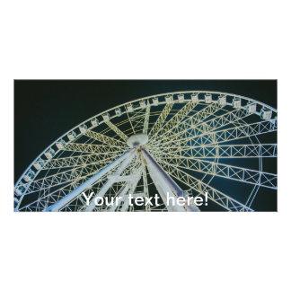 Budapest wheel custom photo card