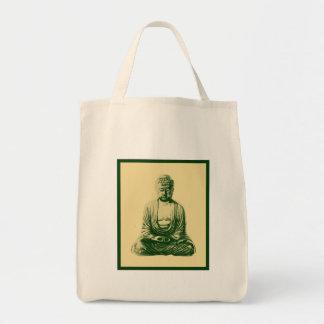 Buddah Organic Grocery Tote Bag