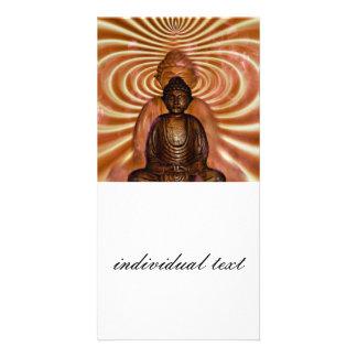 BUDDDHA PERSONALIZED PHOTO CARD
