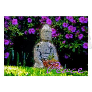 Buddha 2 Peace Greeting Card