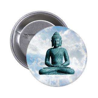 Buddha Alone - Round Button