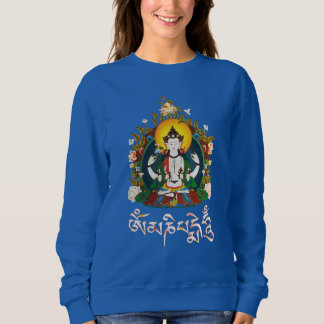 Buddha Amitabha Om Mani Padme Hum Tibetan Sweatshirt