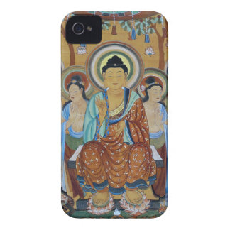 Buddha and Bodhisattvas Dunhuang Mogao Caves Art iPhone 4 Case-Mate Cases