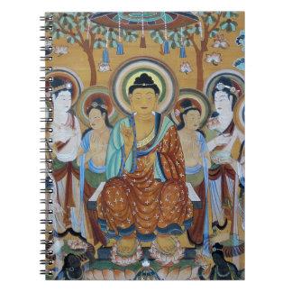 Buddha and Bodhisattvas Dunhuang Mogao Caves Art Notebook