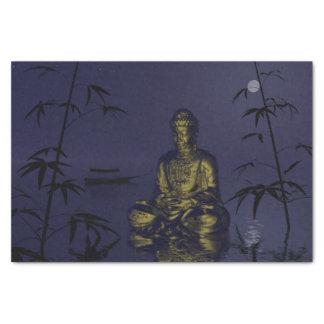buddha and night tissue paper