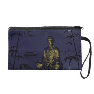 buddha and night wristlet