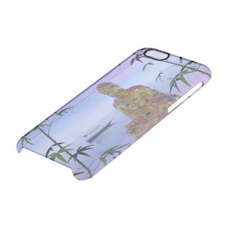 buddha and sky blue clear iPhone 6/6S case