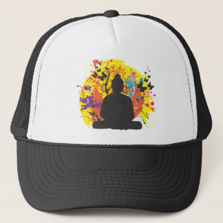 Buddha and the Sun Trucker Hat
