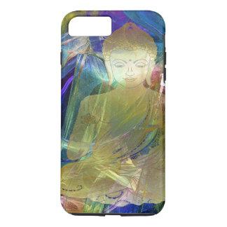 Buddha applied (blue) iPhone 8 plus/7 plus case