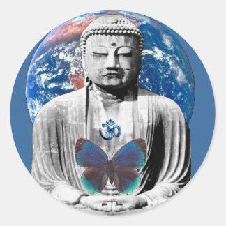 Buddha Awaits Sticker