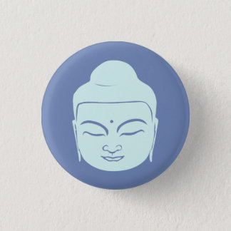 Buddha Badge. Peace Be With You. 3 Cm Round Badge