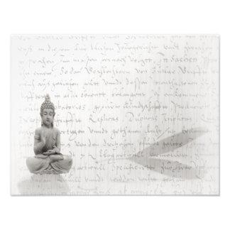 Buddha black of Weis Design Photo Print