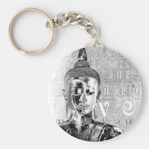 Buddha Blessing Key Chains