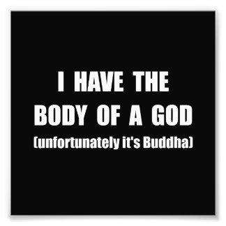 Buddha Body Photographic Print