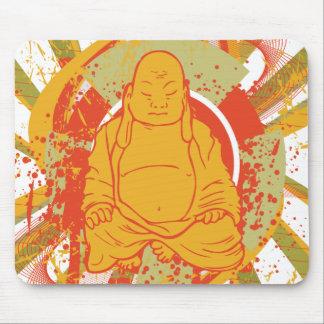 Buddha ~ Buddhism Buddhist Sunburst Mousepad