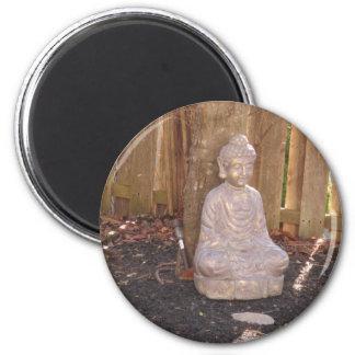 Buddha Buddhism Religion Spiritual Idol Statue fun Refrigerator Magnet