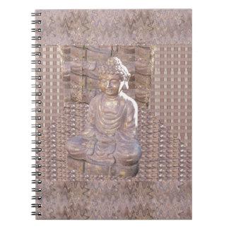 Buddha Buddhism Religion Spiritual Meditation gift Note Book