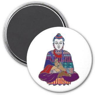BUDDHA Buddhism Teacher Master NVN659 spiritual 7.5 Cm Round Magnet