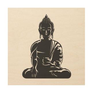 Buddha,buddhism,yoga,yogi,faith,spiritual,zen,ohm Wood Wall Decor