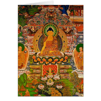Buddha Buddhist Buddhism Blessing Boho Bohemian Card