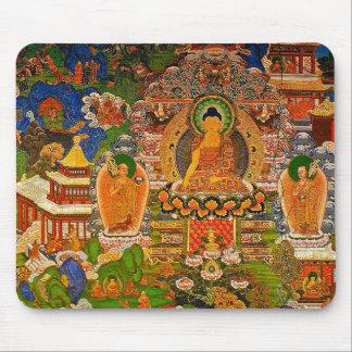Buddha Buddhist Buddhism Blessing Boho Bohemian Mouse Pad
