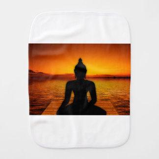 buddha burp cloth