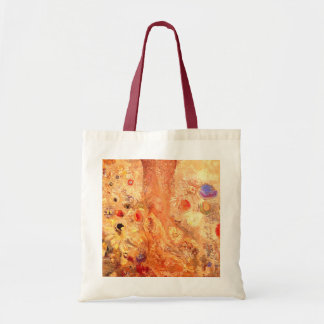 Buddha by Symbolist Painter Odilon Redon Budget Tote Bag