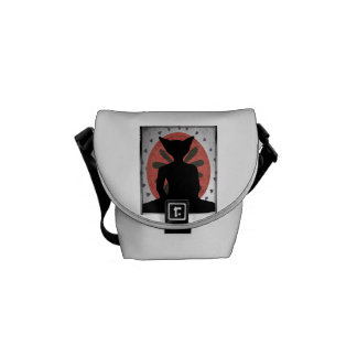 Buddha Cat Messenger Bag