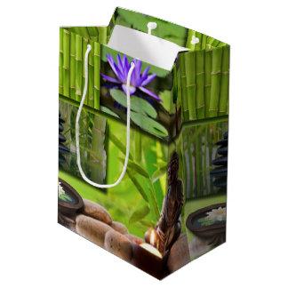 Buddha  Collage Medium Gift Bag