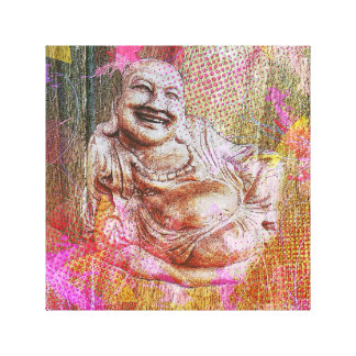 Buddha colour canvas print