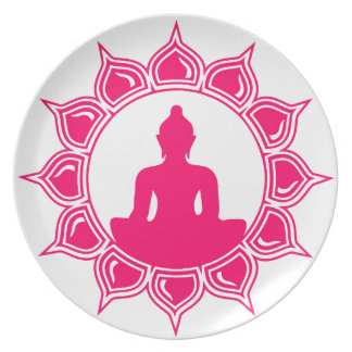 Buddha Designs by Liebby Industries Plate