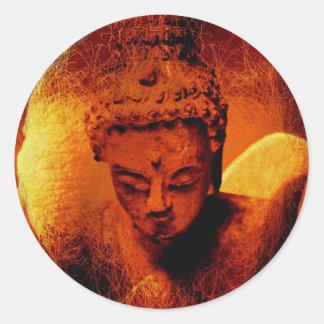 Buddha Dreams Classic Round Sticker