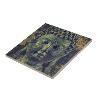 Buddha End of Suffering Tile