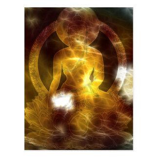 Buddha Energy 4 Postcard