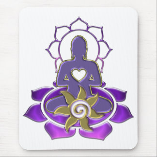 BUDDHA energy   make your own background Mouse Pad