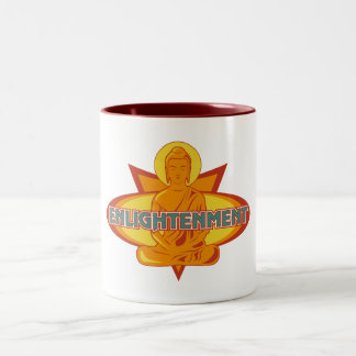 Buddha Enlightenment Two-Tone Coffee Mug