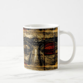Buddha Eyes in Mondrian Style Mug