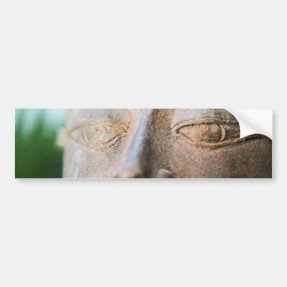 Buddha Face Bumper Sticker