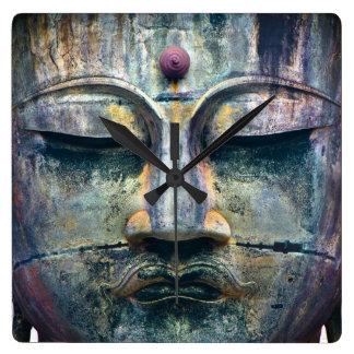 Buddha Face Clock