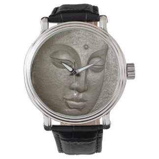 Buddha face watch