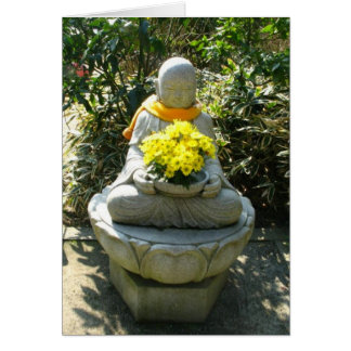 Buddha Flower Offering-NY Note Card