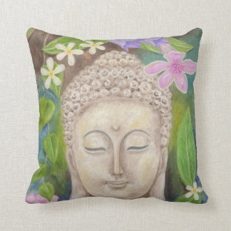 Buddha Flower throw pillow Throw Cushions